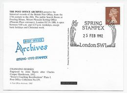 Stampex Spring 1992 - Post Office Archives - Changing Horses - 1952-.... (Elizabeth II)