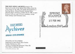 Stampex Spring 1992 - Post Office Archives - Pulling Up To Un-Skid - 1952-.... (Elizabeth II)