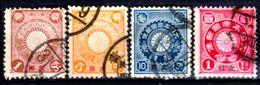 Cina-A-0245 - 1900: Sovrastampati Per L'ufficio Postale Diplomatico Giapponese - Dentellati 12 - Senza Difetti Occulti. - Cina