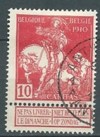 Belgique    -  Yvert N° 91 Oblitéré -  Po56123 - 1910-1911 Caritas