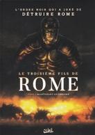Plaquette Publicitaire Le Troisième Fils De Rome MARTINO MOENARD Soleil 2018 - Livres, BD, Revues