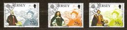 Jersey CEPT 1992 Yvertn°  572-574  (°) Oblitéré Used Cote 5 Euro - Jersey