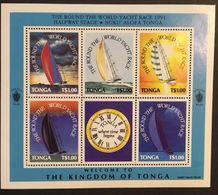 Tonga 1991 Around The World Yacht Race - Tonga (1970-...)