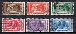 1938 - VATICAN - PIO XI - Scott #55-60 Used - Vatican