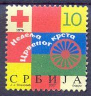 SRB 2007-ZZ09 RED CRSS, SERBIA, 1 X 1v, MNH - Serbien