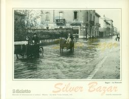 MILANO - BAGGIO - LOTTO DI 40 RIPRODUZIONI CM 16,5 X 23 EDITE DA IL DICIOTTO- - Milano