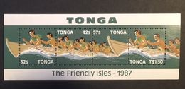 Tonga 1987 1st Inter-Island Canon Race - Tonga (1970-...)