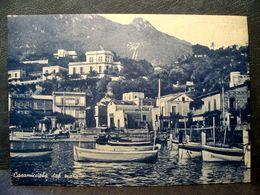 (FG.R77) CASAMICCIOLA TERME Dal Mare - BARCHE (NAPOLI) Francobollo Rimosso - Napoli (Napels)
