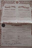 EMPRUNT 4 1/2 % OR ROYAUME DE SERBIE 1906 - Shareholdings