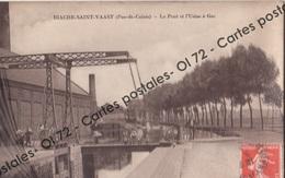 CPA - Pas De Calais > Biache Saint Vaast - Le Pont Et L'Usine à Gaz - Animée - Altri Comuni