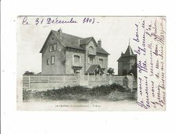 Cpa LE CROISIC  Villa TI BREIZ 1905 - Le Croisic