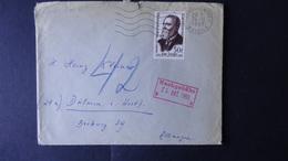 France - 1959 - Yt:FR 1217, Mi:FR 1261 O - On Envelope - Nachgebührstempel - Look Scans - Briefe U. Dokumente