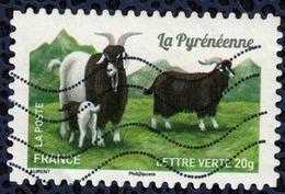 France 2015 Oblitéré Used Stamp Goat Chèvre La Pyrénéenne Y&T 1104 - France