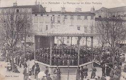 MONTAUBAN  La Musique Sur Les Allées Mortarieu - Montauban