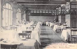 31 - SUPERBAGNERES LUCHON : Restaurant Café Glacier Hotel : La Salle De Restaurant - CPA - Haute Garonne - Luchon