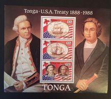 Tonga -US Treaty Cent. - Tonga (1970-...)