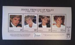 Tonga 1998 Diana Princess Of Wales - Tonga (1970-...)