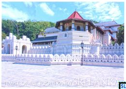 Sri Lanka Postcards, Temple Of Tooth, Dalada Malgawa, Kandy, UNESCO, Postcrossing - Sri Lanka (Ceylon)