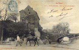 81)  PUYLAURENS     -  Le Lac Et Chateau - Puylaurens