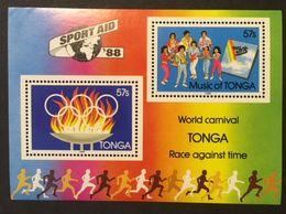 Tonga 1988 Music Of Tonga - Tonga (1970-...)