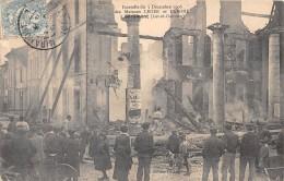 47 - LOT ET GARONNE / 47854 - Miramont - Incendie 1906 Des Maisons Leger Et Labone - France