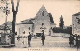 47 - LOT ET GARONNE / 47873 - Monbran - L'église - Beau Cliché Animé - France