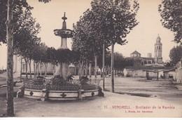 11 POSTAL DE EL VENDRELL DEL BROLLADOR DE LA RAMBLA (L. ROISIN) - Tarragona