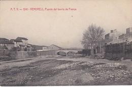 ATV 1241 POSTAL DE EL VENDRELL DEL PUENTE DEL BARRIO DE FRANSA (ANGEL TOLDRA) - Tarragona