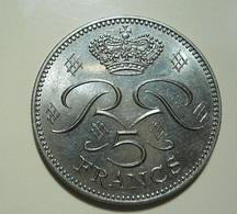 Monaco 5 Francs 1982 - 1960-2001 Nouveaux Francs