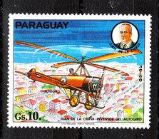Paraguay -  1977. Elicottero Storia. Helicopter History. MNH - Elicotteri