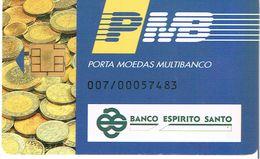 PHONECARDS-PORTUGAL- PORTE MONNAIE- MULTIBANCO  CHIP--- BANK---BANCO ESWPIRITO SANTO - Portugal