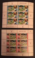 New Zealand 1971Health Sheet Of Six Pair - Unclassified