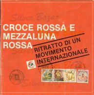 CROCE ROSSA- CATIGLIONE D.STIVIERE-VOLUMETTO  ESPLICATIVO DELLE ATTIVITA DELLA C. ROSSA-CON ANNULLO SPECIALE SUPERCAMP - Libri, Riviste, Fumetti