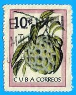 Cuba. 1963. Scott # 804. Frutas. Chirimoya - Cuba