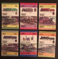 Tuvalu 1984 Historic Locomotives - Tuvalu