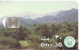 CARTE-PUCE-EMIRATS-30DHS-SC7-OASIS-TBE - Emirats Arabes Unis