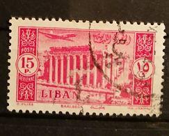 Liban - 1954 YT 96 Poste Aerienne - Oblitéré - Líbano