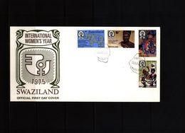 Swaziland 1975 Int.Women's Day FDC - Swaziland (1968-...)