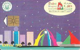 CARTE-PUCE-EMIRATS-30DHS-Gem1-DUBAI SHOPPING-FESTIVL 1997 - Emirats Arabes Unis