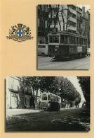 13005 MARSEILLE CARTE POSTALE BD CHAVE LIGNE DE TRAMWAY 68 TRAIN LOCOMOTIVE - Cinq Avenues, Chave, Blancarde, Chutes Lavies
