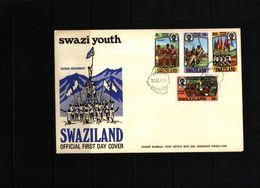 Swaziland 1975 Swazi Youth FDC - Swaziland (1968-...)