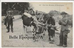 Auvergne - Sur Les Routes D'Auvergne +++++ L'Hirondelle, Paris, #55 +++++ - Auvergne
