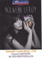 FLYER NOLWENN LEROY 7/4/18 MONTMORILLON - Musique & Instruments