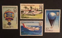 Tuvalu 1983 First Manned Flight Bicentenary - Tuvalu