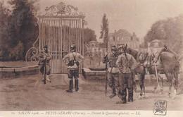 AK Salon 1906 - Petit-Gérard (Pierre) - Devant Le Quartier Général (33006) - Paintings
