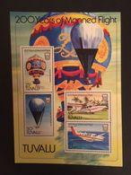 Tuvalu 1983 First Manned Flight Bicentenary S/S - Tuvalu