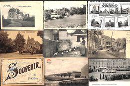 Bruxelles - Lot Sélectionné De 23 Cartes PK's (animée, Précurseur,  Peu Vue...) - Cartes Postales