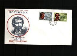 Botswana 1973 David Livingstone FDC - Botswana (1966-...)