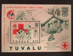 Tuvalu 1988 Red Cross - Tuvalu