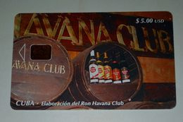 Cuba,Elaboracion Del Ron Havana Club - Cuba